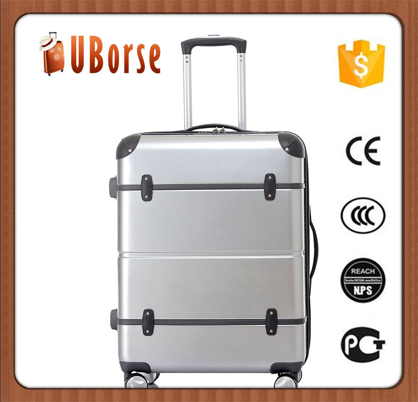 Woman bags big airport trolley design hard case luggage in travel