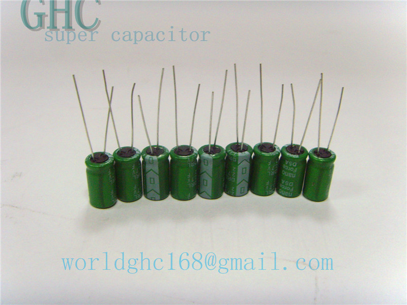 Nano Force super capacitor 2.7v1.5f ultra capacitor for toys electronics