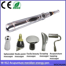 meridian full body 5 heads health pen acupuncture for pain relief portable laser