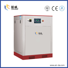 7.5hp general tank mounted screw air compressor with dryer