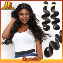 Human Hair JP Hair 2015 Unprocessed Wholesale No Tangle Peruvian Hair Extensions Yiwu