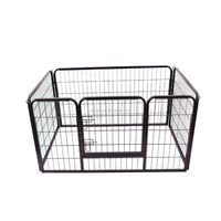 Hot sale outdoor folding steel pet rabbit fence kennel