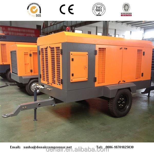 16bar/260hp Diesel Portable Screw Air Compressor