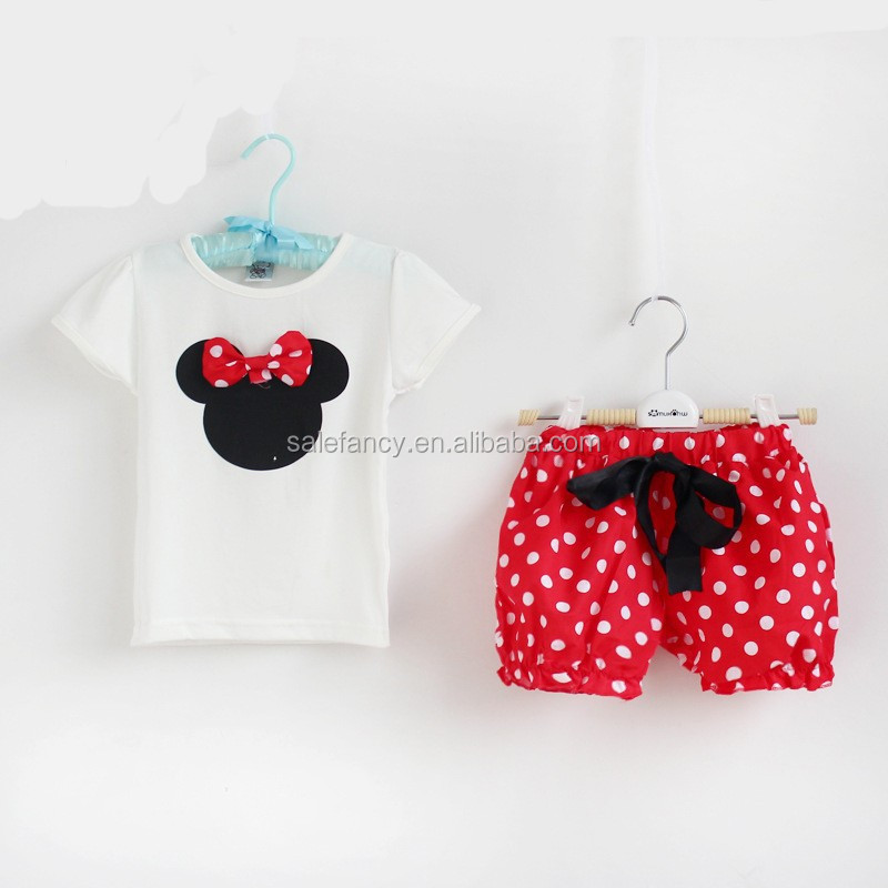 kids minnie mouses dress mickey mouses costume for children QKC-2544