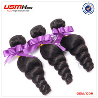 Wholesale Cheap And Excellent Quality Loose Wave 3 pcs Brazilian Hair Styles Pictures