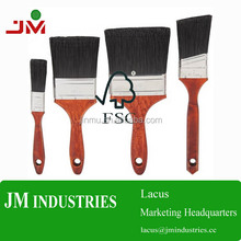 china manufacturer of one series sizes wood paint brush for color paintint