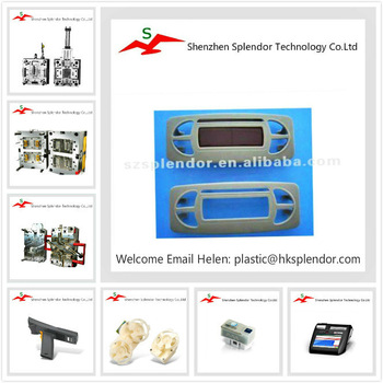 Precise plastic injection picture frame moulding