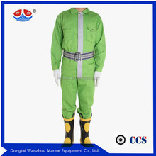 factory price 100% cotton fire fighting suit for uniform