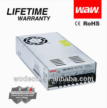 Reliable Quality CE RoHS 15A 350W 24V Switching Power Supply(NES-350-24)