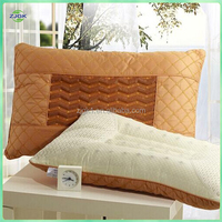Tianjin Functional Cotton Tourmaline Pillow Help Sleep, Double Sides Massage Magnetic Pillow relief neck pain