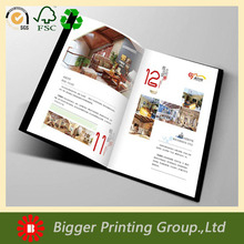 custom design multicolor display food product Catalog/brochure/booklet printing