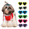 14pcs/lot Fashion Sunglasses Pet Hairpin Cute Cat Hair Clips Dog Grooming Accessories Boutique Pet Hair Accessories