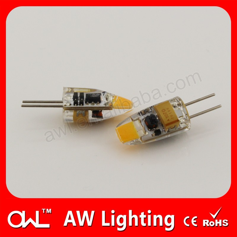 led driver Dimmable silicon shape 5w G4 led lamp e27 220v