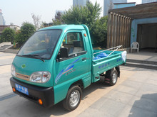 Mini electric vehicle for cargo transportation