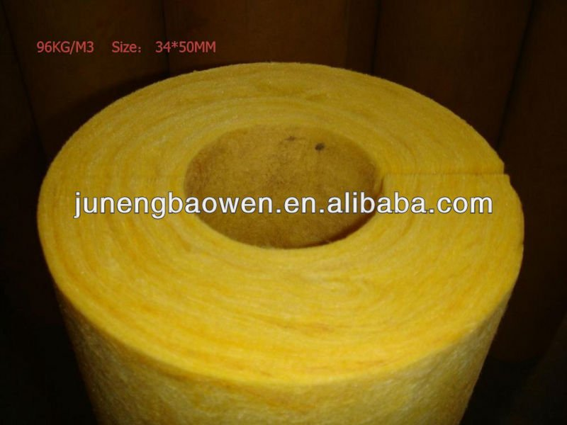 heat and cold insulation materials glasswool pipe