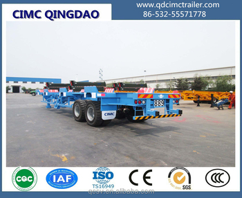 20' 40' Port Yard Terminal container trailer chassis