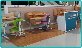 Hot selling ergonomic adjustable children furniture desk and chair set