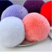 Top selling rex rabbit fur ball pom pom