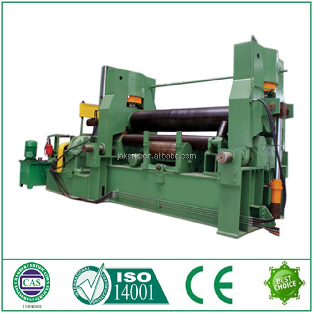 stainless steel W11S 3 roller rolling machine three rollers plate bending machine with oversea service from Nantong