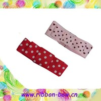 MSD Cut ribbon bow tie for shoes decoration,cheap bow ties