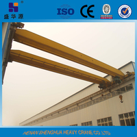China Famous Overhead Travelling Bridge Crane