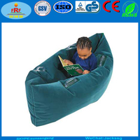 Traveling Camping Flocked Inflatable Pea pod Sofa