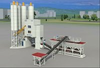 HZS120D Automatic Concrete batching plant
