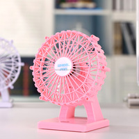 6 inch Mini USB Silent charging Ferris wheel aromatherapy fan with touch switch