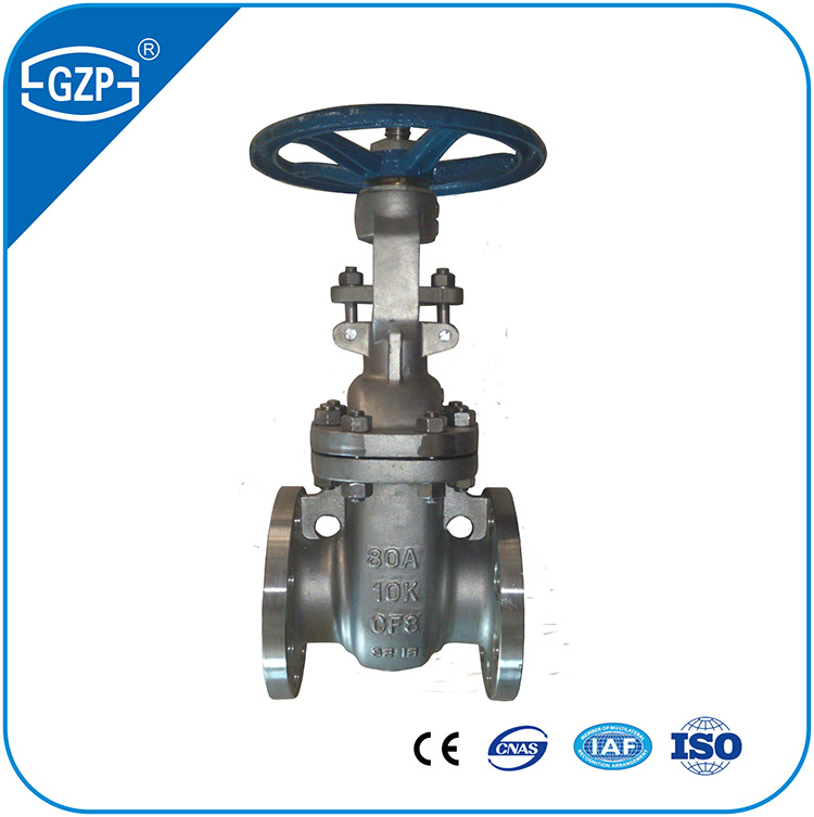 Industrial WOG Handwheel Gear Operation Gate Valve