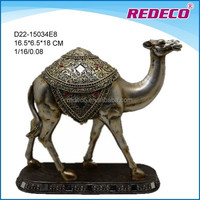 Decorative polyresin camel figurine for sale