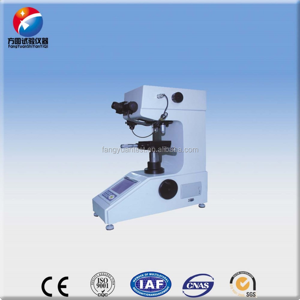 HV microscopic hardness tester used for metal within 1000gf