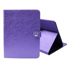 PU Leather protective cover 7 inch pu+pc universal tablet case