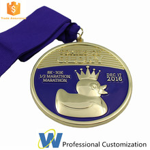 Customized 3D Animal Medal Die Cast Soft Enamel Medal Marathon Medals