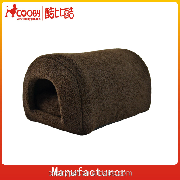Alibaba Low moq custom indoor Sherpa fleece dog house ,wholesale sponge dog house,warm Non-slip dot base dog house for sale
