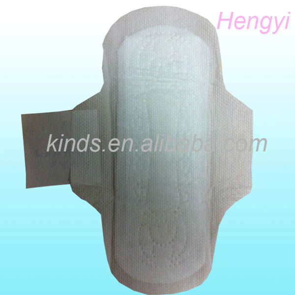 Ultra soft cotton Sanitary Napkins Sanitary Pad with wings