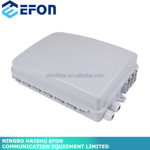 Plastic junction box fiber optic cable water outdoor white waterproof telecommunications