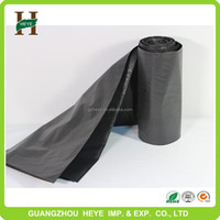 Durable low price plastic black recycle garbage bag