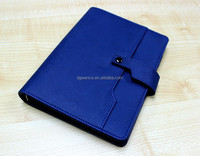 PVC new products 2016 note books office supplies with card bag