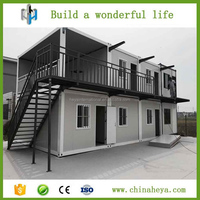 Prefab modular building two storey prefabricated container house
