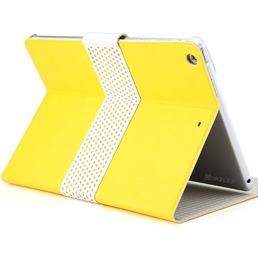 New Arrival Ultra Thin Slim PU Leather Stand Case for ipad 5 ipad air