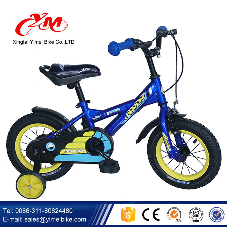 new model children bicycle 12inch boys sport bike/Yimei brand 4 wheel kids bikes for sale /OEM low price steel chindren bicycle