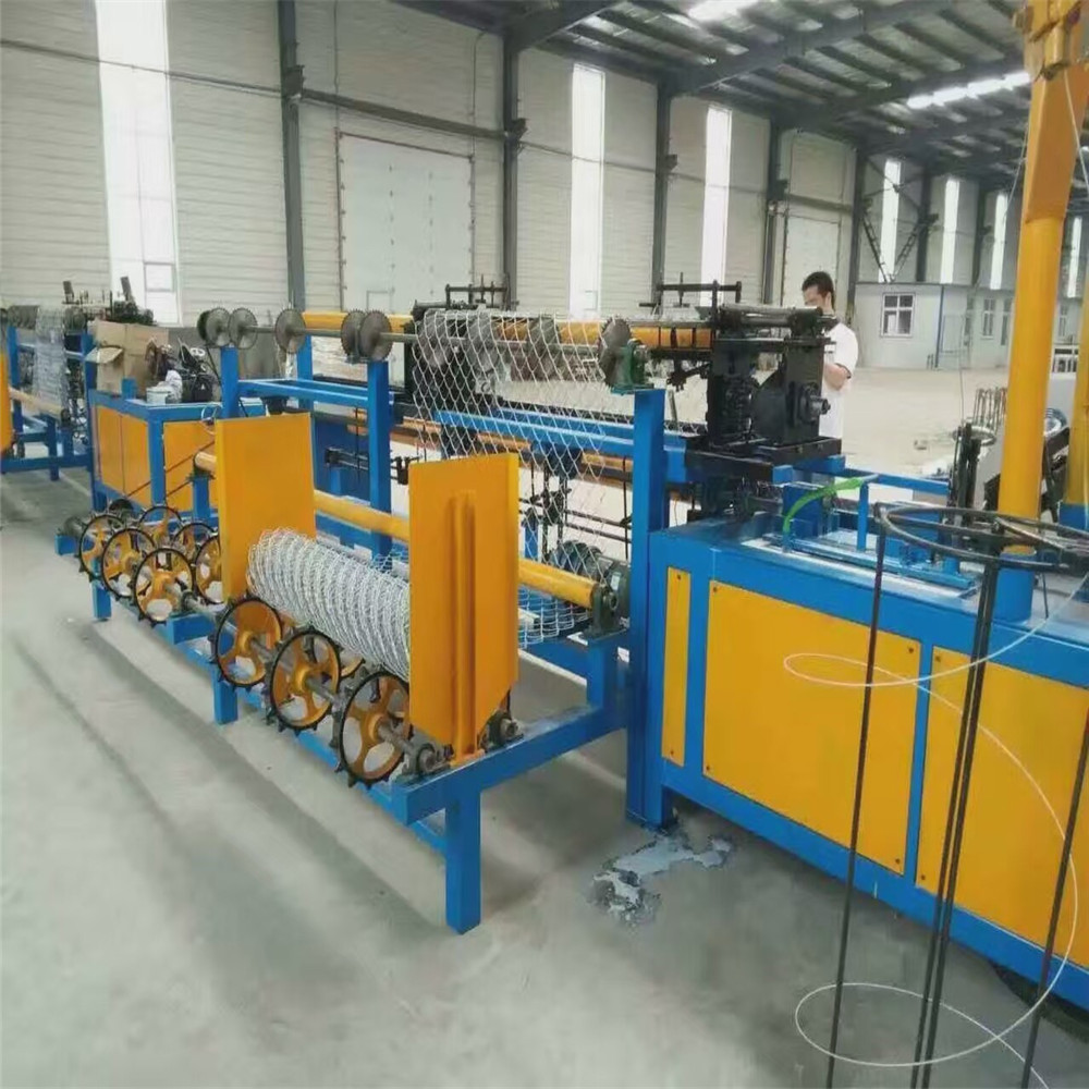 Semi Automatic Chain Link Fence Machine(12 years factory)