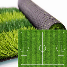 24 hours infilled sport flooring synthetic grass Outdoor football match turf