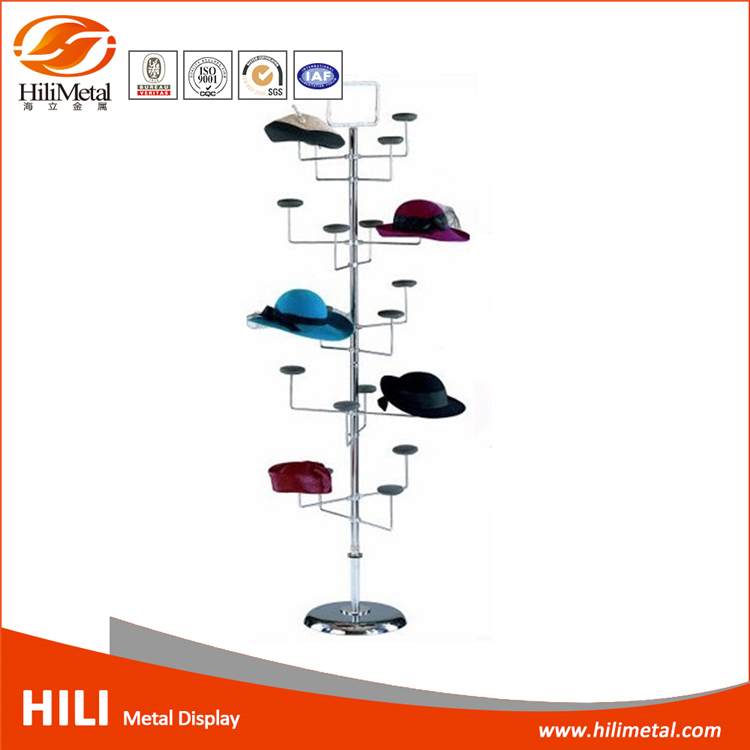 Floor Hat Rack Hanging Wire Rack Storage Stand