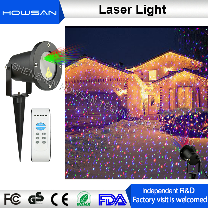 New design Xmas elf decorative light show ip65 outdoor waterproof cheap laser projector for garden