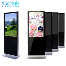 Indoor full HD and wifi/3G led digital signage screens with remote control
