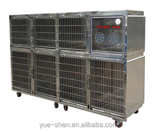 high quality veterinary stainless steel kennel large animal cage