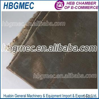 Smooth Surface Treatment Twill basalt fiber fabric supplier in USA