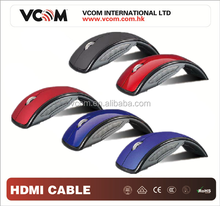 2017 VCOM Computer Accessories 2.4Ghz Wireless Optical Mouse Arc Folding mouse