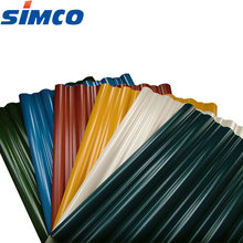 Modern PPGI galvanized prepainted corrugated steel sheet for roofing material